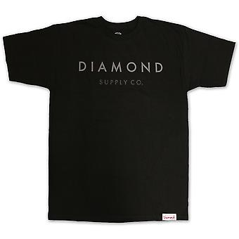 Diamond Supply Co Yacht Type T-shirt Black