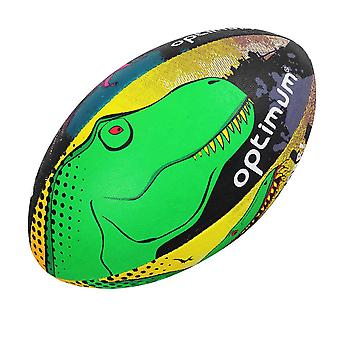 OPTIMUM dino city training rugby ball