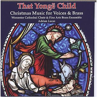 At Yongd Child - Julemusik for Vo [CD] USA importerer
