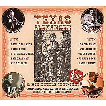 Texas Alexander & His Circle - 1927-1951: Authentic Early Texas Country Blues [CD] USA import