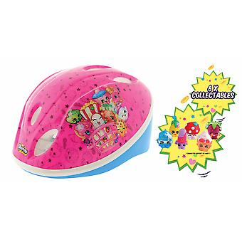 Shopkins Collectable Safety Helmet with 6 Shopkins Collectables