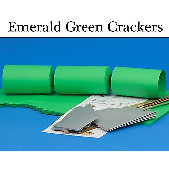 Emerald Green Make & Fill Your Own Cracker Making Craft Kits & Boards