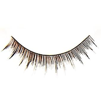 Dimples Fake Eyelashes Party Accessory 2 Pack False Professional-125 Black