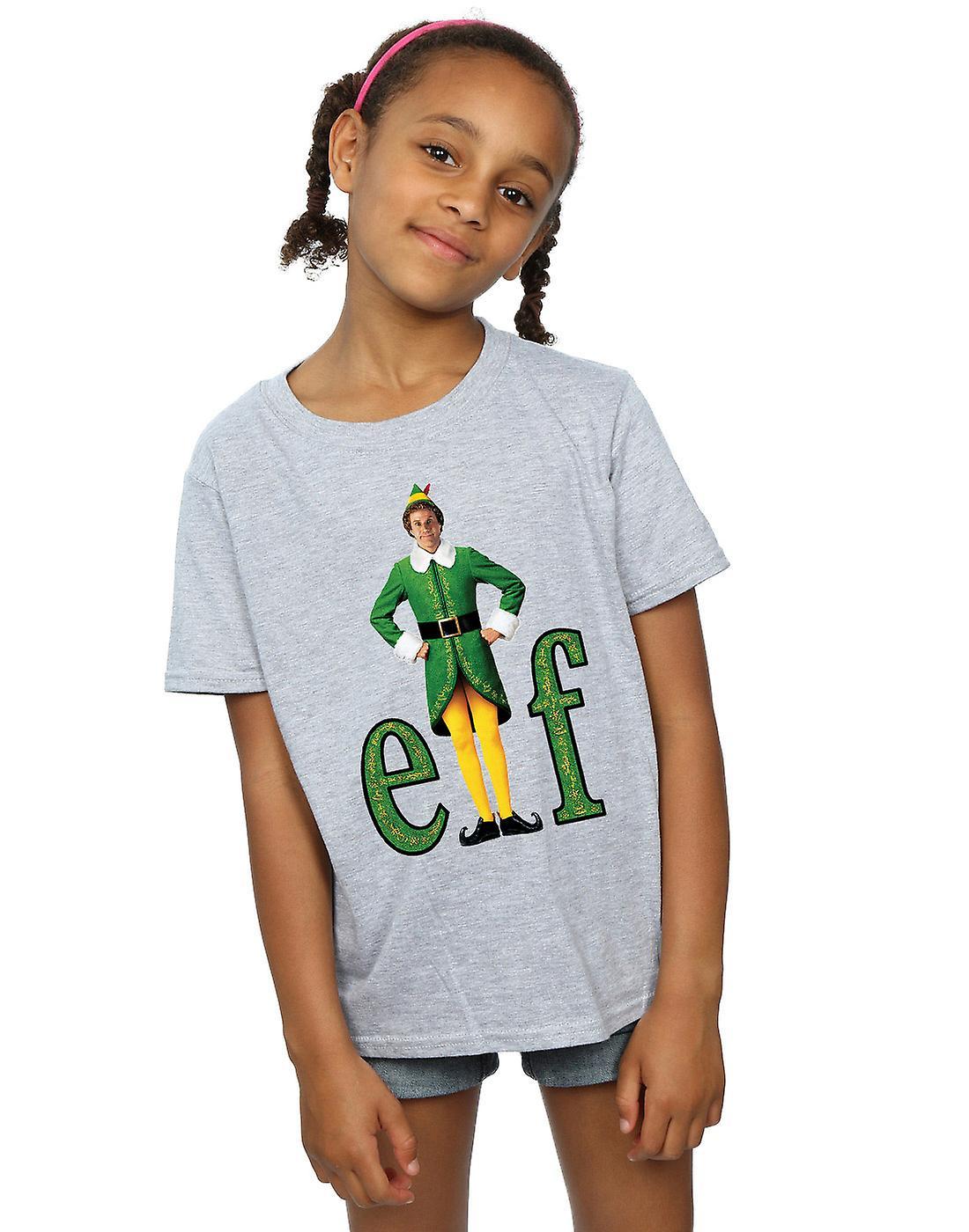 Elf filles Buddy Logo T-Shirt