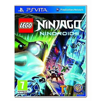 Lego Ninjago Nindroids Playstation Vita Game