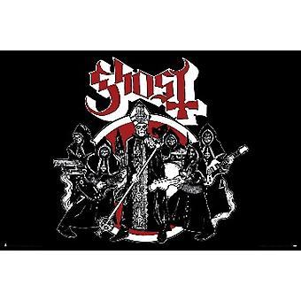 Ghost - Opus éponyme affiche Poster Print