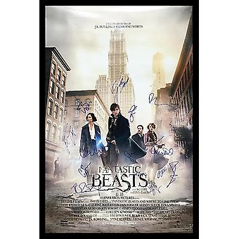 Fantastic Beasts and Where To Find Them - Signed Movie Poster