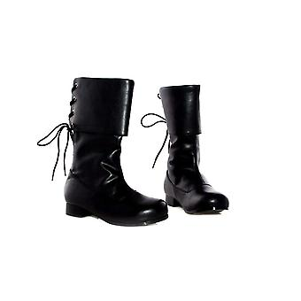 Ellie Shoes E-101-Sparrow Childrens 1 Heel Pirate Ankle Boot