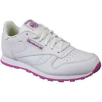 Reebok klasyczne skórzane BS8044 universal cały rok dzieci buty