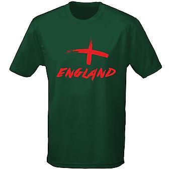 Engeland geschilderd voetbal Rugby Mens T-Shirt 10 kleuren (S-3XL) door swagwear