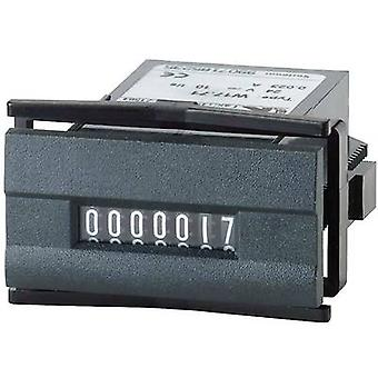 Kübler W 17.50 230 V/AC Pulse counter type W 17.50 7-digit Assembly dimensions 45 x 22.2 mm