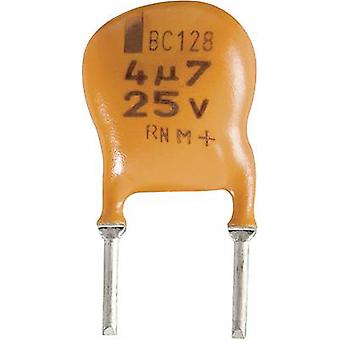 Electrolytic capacitor Radial lead 5 mm 22 µF 10