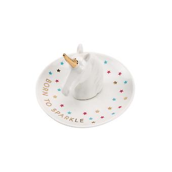 CGB Giftware Cloud Nine Unicorn Head Ring Dish