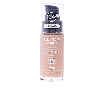 Revlon Colorstay Foundation Normal Dry Skin Natural Beige 30ml Womens New