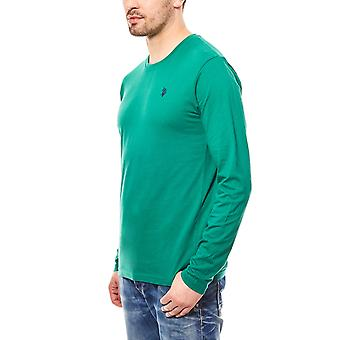 U.S. POLO ASSN. Long sleeve shirt men green Longsleeve