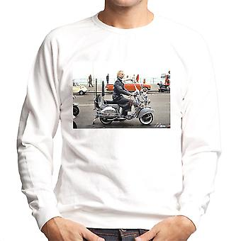 Sting On A Moped In Quadrophenia Men's Sweatshirt