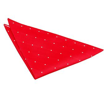 Red Pin Dot Handkerchief / Pocket Square
