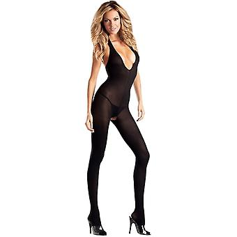 Worden de goddelozen BWB22 ondoorzichtig Halter Top Body Stocking