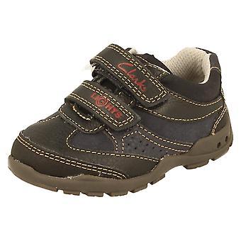 Niños Clarks Casual Zapatos primero de tiempo de Flash