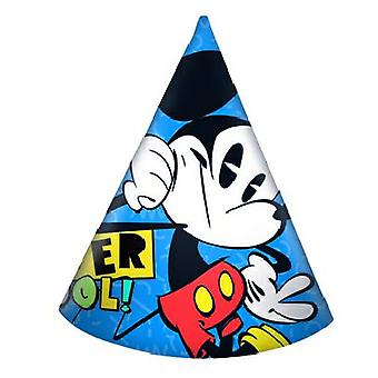 Mickey super cool Mickey Mouse party hats birthday 6 pieces