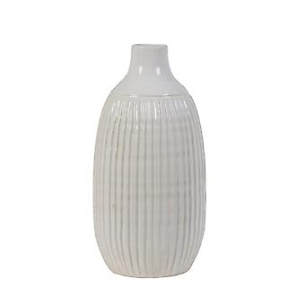 Light & Living Vase Deco Ø17,5x36,5 Cm SALVADA Ceramics White