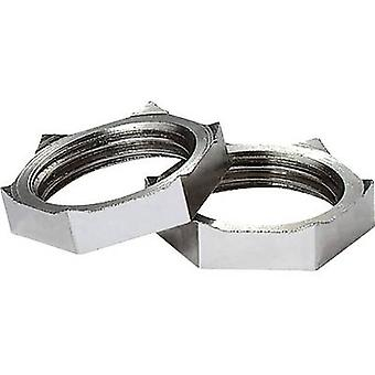 Locknut with PG clamps M25 Brass Ecru Jacob 50.225 MPOT 1 pc(s)