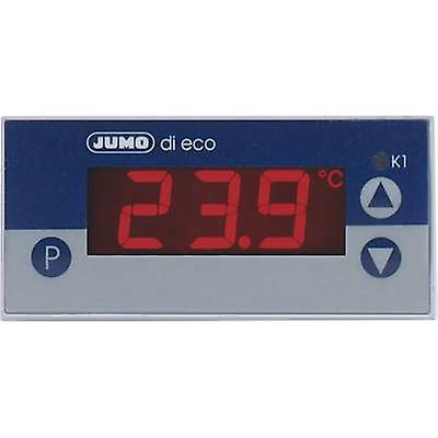 JUMO di eco régulateur de température Pt100, Pt1000, relais de KTY2X-6-200 à + 600 ° C 10 A (L x l x H) 56 x 76 x 36 mm