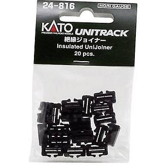 N Kato Unitrack 7078508 Track Stecker, isoliert