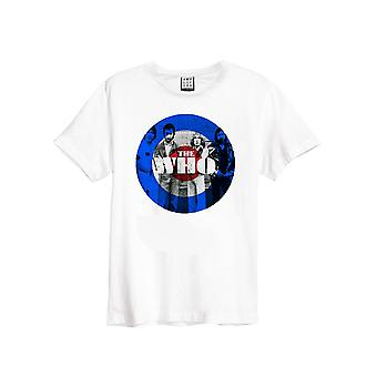 Amplified The Who Target White Crew Neck T-Shirt M