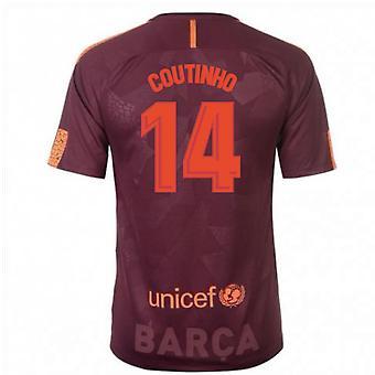 2017 / 18 Barcelona Nike tredje skjorte (Coutinho 14)