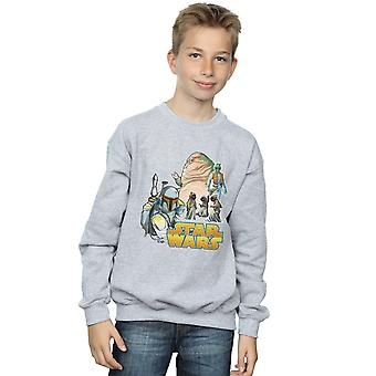 Star Wars Boys Vintage Montage Sweatshirt