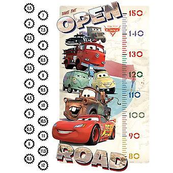 Metro Wand Aufkleber Disney Pixar Cars