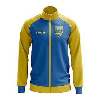 Rwanda Concept Football Track Jacket (Blue) - Kids