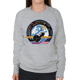 Roscosmos TMA 06M Soyuz Spacecraft Mission Patch Women's Sweatshirt