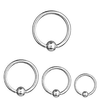 BCR Piercing, Ball Closure Ring, Thickness 2,5 mm | Diameter 8 - 26 mm