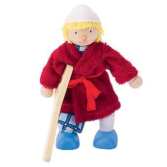 Maison de poupée poupée garçon Patient