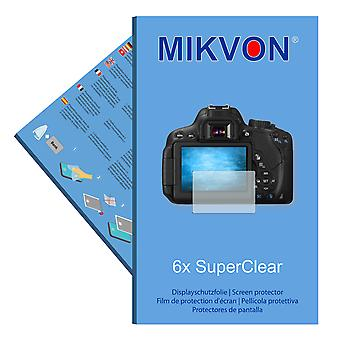 Canon EOS Rebel T4i screen protector- Mikvon films SuperClear