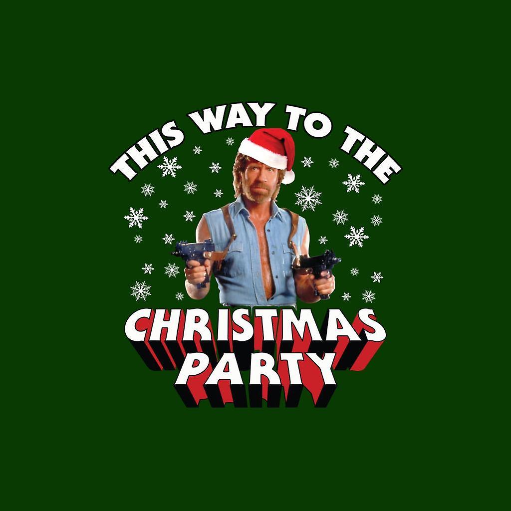 Chuck Norris Weihnachten.Chuck Norris So Zu Weihnachten Party Damen T Shirt