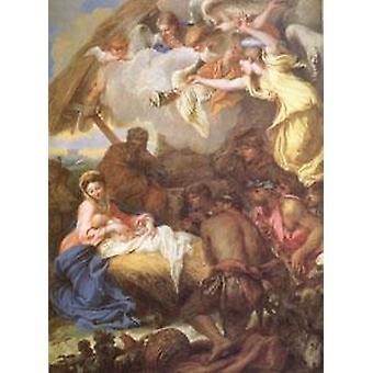 Adoration of the Shepherds, Giovanni Benedetto Castiglione