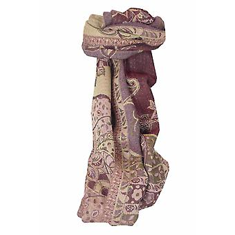 Muffler Scarf 9629 in Fine Pashmina Wool Heritage Range by Pashmina & Silk