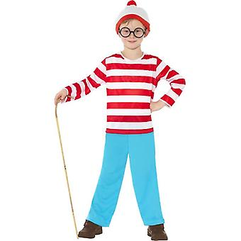 Where's Wally Costume, Small Age 4-6