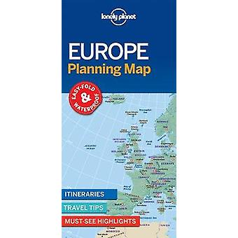 Lonely Planet Europe Planning Map by Lonely Planet - 9781786579102 Bo