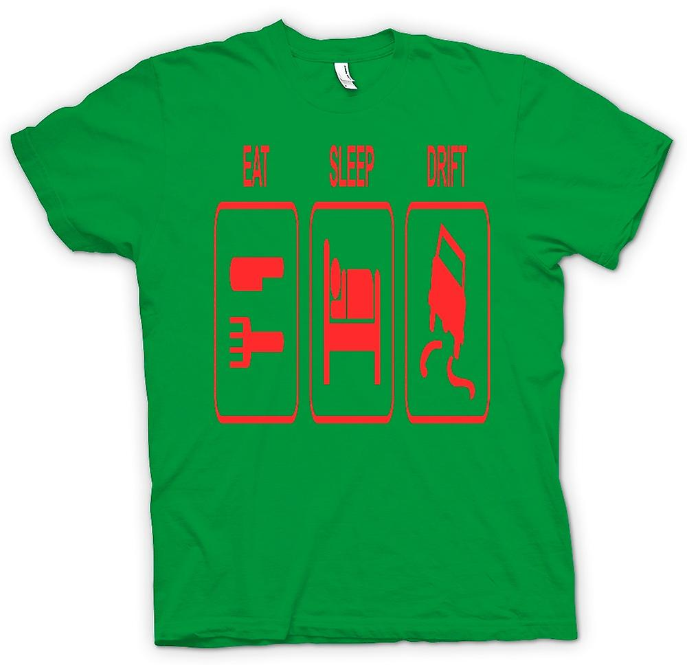 Mens T-shirt - Eat Sleep Drift - Driving