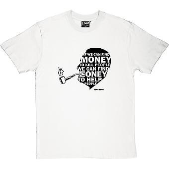 Tony Benn Money Quote Men's T-Shirt