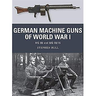 Tyska kulsprutor världskriget I: 08 och MG 08/15 (vapen)
