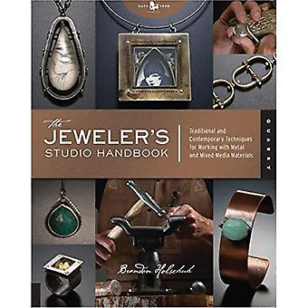 JUVELERARAFFÄR Studio handbok: traditionella och moderna tekniker för att arbeta med metall tråd Jems och blandteknik material: traditionell och... för att arbeta med metall, tråd, pärlor, och blandade