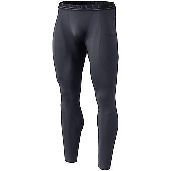 Tesla YUP43 Thermal Winter Gear Compression Pants - Dark Gray/Dark Gray