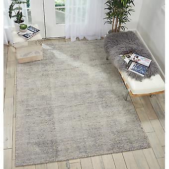 Weston WES01 Silbr Rechteck Teppiche Plain/fast nur Teppiche