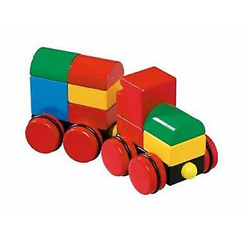 BRIO Magnetic Construction Train 30124