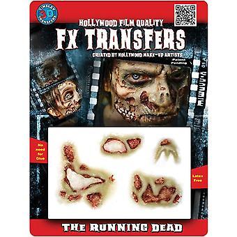 The Runnning Dead 3D Tattoo